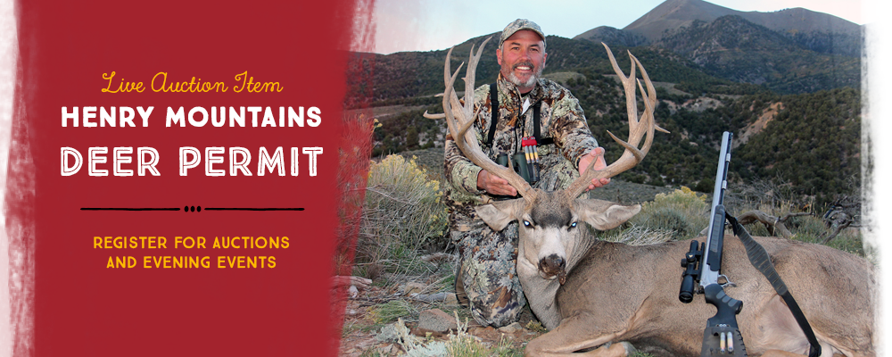LIVE AUCTION ITEM Henry Mountains Deer Permit