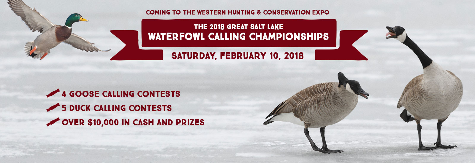 The 2018 Great Salt Lake Waterfowl Calling Championships